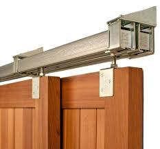 Overlapping Sliding Barn Doors Double Bypass Door System A Fail ...
