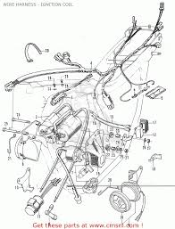 honda cb350k4 general export kmh wire harness ignition coil view large image