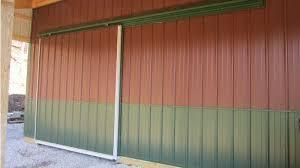 barn sliding garage doors. Pole Barn Sliding Doors Garage
