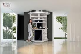 Circle Kitchen Drehbares Küchenkompaktkonzept All in e