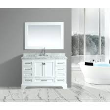 white single sink vanity omega inch mirror set morriston ellenbee with cultured marble top