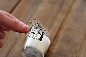 tape transfer as glass cling via lilblueboo com