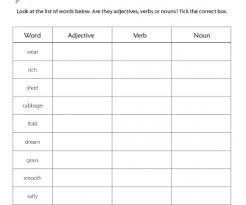 A noun affected by a preposition is called simply the object of a preposition. Adjectives Verbs And Nouns