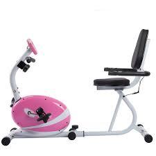 sunny health fitness p8400 pink magnetic rebent exercise bike walmart