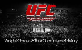 ufc weight cles ufc chions
