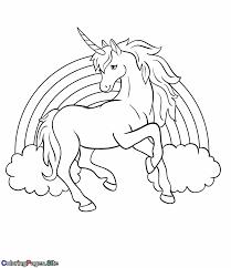 rainbow unicorn coloring page unicorn coloring pages coloring pages for kids color activities