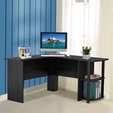 office corner shelf. Fine Corner Image Is Loading LShapedComputerDeskwith2StorageShelf Intended Office Corner Shelf L