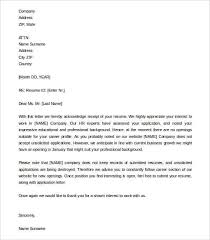 32 Acknowledgement Letter Templates Free Samples Examples Format