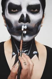 sfx look 3 how to do skull makeup