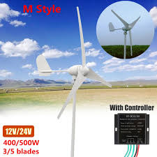 3blades wind generator power wind turbine generator kit ac 12v 24v 48v