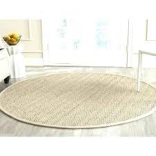7 round rug 6 foot round rug casual natural fiber natural beige rug 6 7 foot 7 round rug