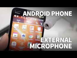 How to Use an External Microphone on Android Phone with <b>3.5mm</b> ...
