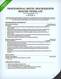housekeeper resume nanny resume benjerryco housekeeper sample what you have to know when writing your housekeeper resume executive housekeeper resume sample objective hospital