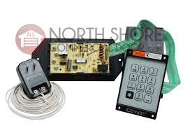 genie 35674r garage door opener universal wired keypad kep 1