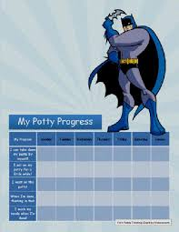 Potty Training Chart Ideas Diy