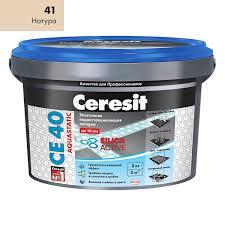 <b>Затирка</b> для <b>швов Ceresit СЕ</b> 40 Aquastatic натура 2 кг купить по ...