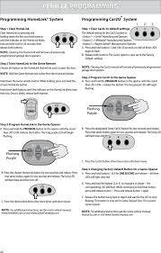 genie garage door opener manualG1TA Remote Control Transmitter for Garage Door Opener Operation