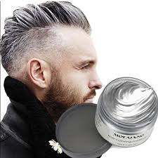 Grey Hairstyles 58 Amazing Temporary Hair Dye Wax YHMWAX 2424oz Instant Hairstyle Silver Hair