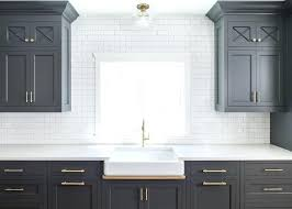 light gray subway tile kitchen cabinets and white floor bathroom kitchen