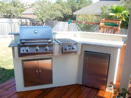 Granite For Outdoor Kitchen Outdoor Kitchen With Stucco And Granite Top Home Decor