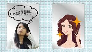 髪型シュミレーションの展示から考えるai関連企業学生の未来とは