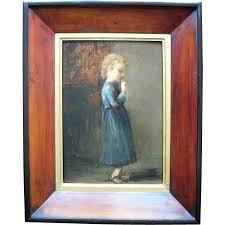 flemish dutch school late 19th century signed with initials hb oil painting