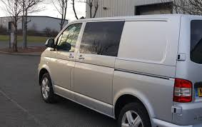 vw tranporter t5 tinted n s f fixed window drivers side