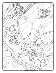 jake and the neverland pirates coloring pages zacs 2nd birthday