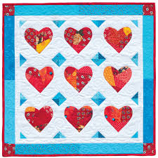 "Want to make creative quilts? Expand your comfort zone (+ sale ... & Crazy Hearts quilt "" Adamdwight.com"