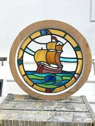nautical stained glass windows window patterns
