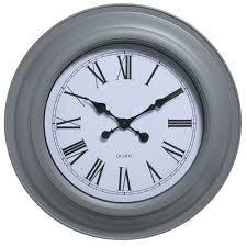 wilko station clock giant grey image