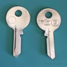 Vintage Auto Key Blank Taylor F68xr Ilco Un16 For Union