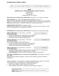 Job Title On Resume Resume Work Template