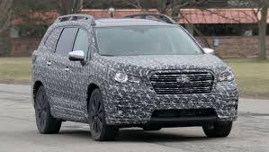 subaru forester 2018 rumors. interesting subaru 2018 subaru ascent suv  spy pics intended subaru forester rumors