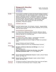 experienced resume templates