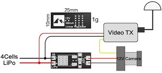 mini 4s lipo to 12v voltage regulator 4s Lipo Wiring Diagram 4K 60 Pro Wiring-Diagram