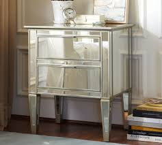 Mirrored bedside furniture Dressing Table Silver Mirrored Bedside Tables Sweet Tater Festival Silver Mirrored Bedside Tables Home Design Ideas Few Original