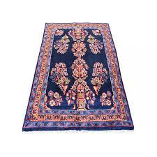 87 x 152 elegant traditional persian multi flower vase design handmade wool rug