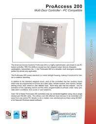 american access systems corp access control access control accessories