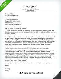 Resume Cover Letter Example Australia Nursing Cover Letter Example