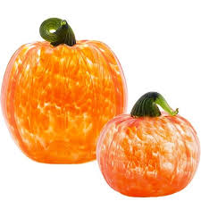 handblown glass pumpkins eparks where your purchase supports america s national parks