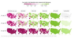 Trumpcare Vs Obamacare Tax Credits The Big Picture