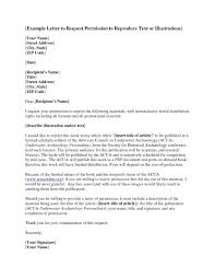 Letter Writing Permission Request Fresh Permit Authorization Letter ...