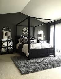 black design inspiration for a master bedroom decor 2