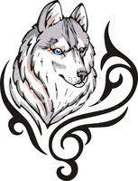 Vlk Tetování Vektory Z Knihovny Clipartme