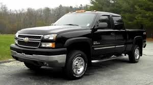 2005 Chevy Silverado 2500HD Ext Cab 6.6 ft Bed 6.6L LLY Duramax ...