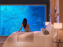 underwater hotel room at night. (Image Courtesy Of Flickr User Warner Bayer ) Underwater Hotel Room At Night