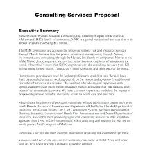 Executive Summary Sample For Proposal Business Proposal Executive Summary Template Sample Business