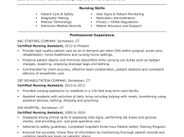 Cna Resume Summary Examples Surprising Professional Cna Resume Sample For Lovely Objective Forms 55
