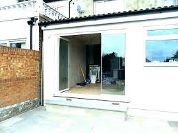 folding glass door cost patio doors s elegant sliding for home depot